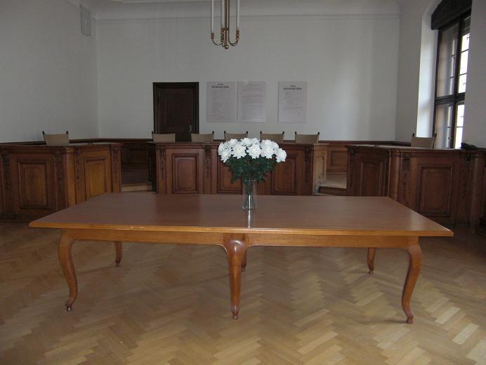 Sal 253 - Här ägde den andra rättegången rum den 19 april 1943