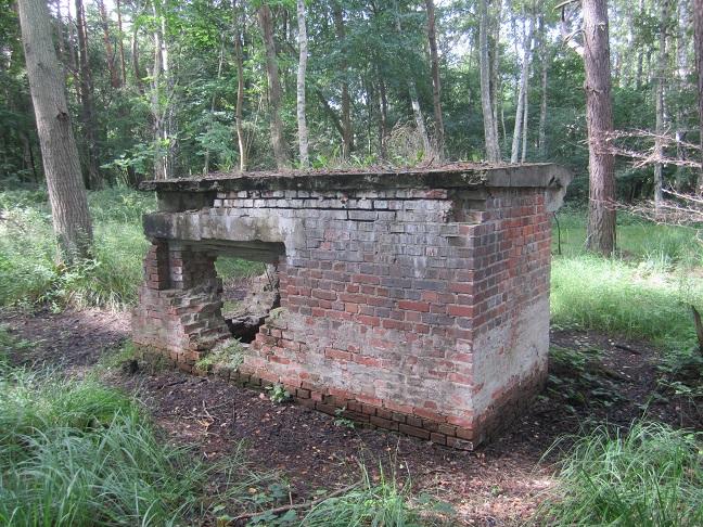 Ruin på lägerområdet