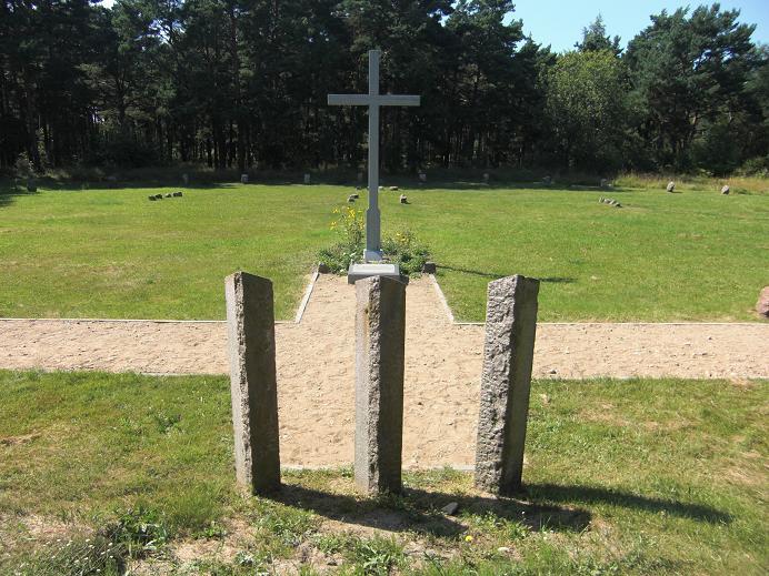 Minnesmonument vid den f.d. avrättningsplatsen