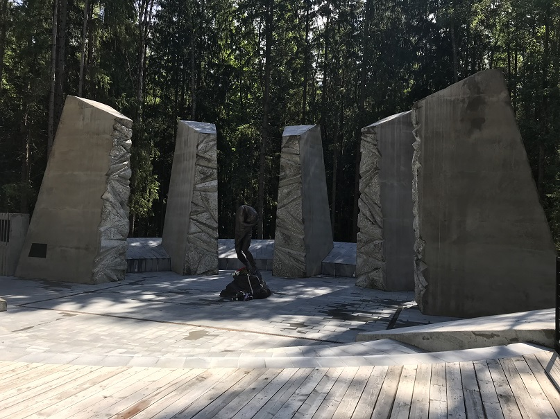 Minnesmonument tillägnat de sovjetiska offren