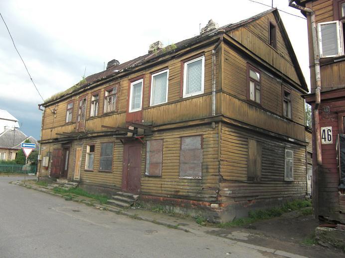 Hus i gettot
