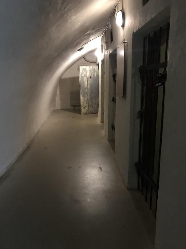 Fångceller i källaren