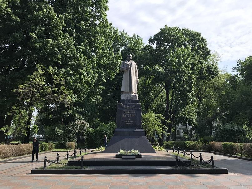 General Nikolai Vatutins grav i Kiev