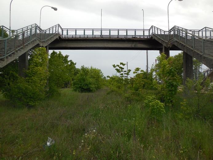 Stationen i Kolo varifrån tågen på den smalspåriga järnvägen gick