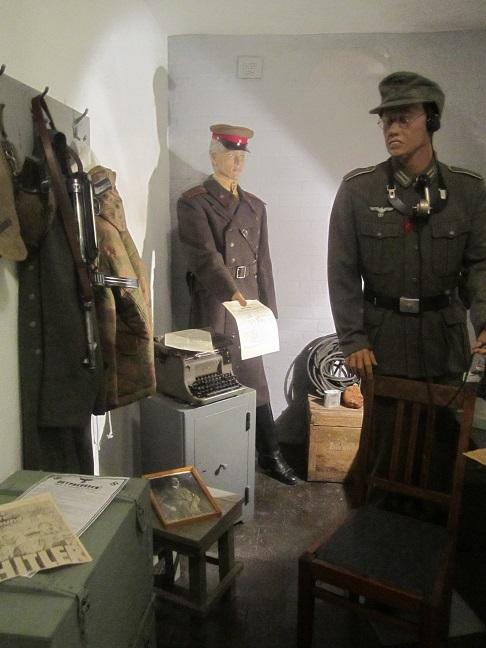 Utställning i bunkern