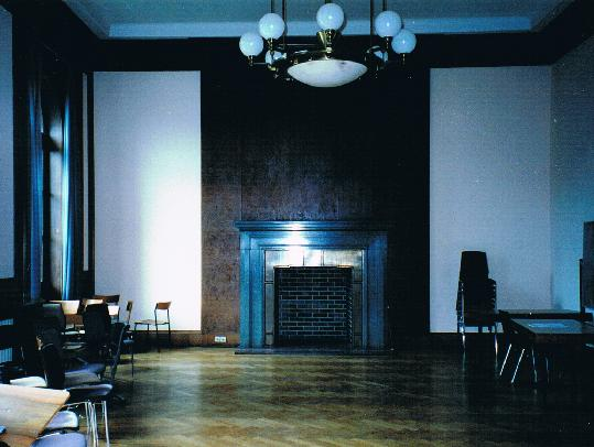 I detta rum undertecknades Münchenavtalet 1938
