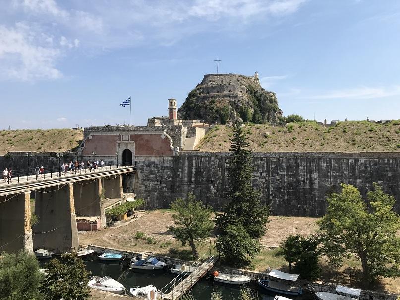 Gamla fortet (39°37'24.70 N 19°55'43.28 E)
