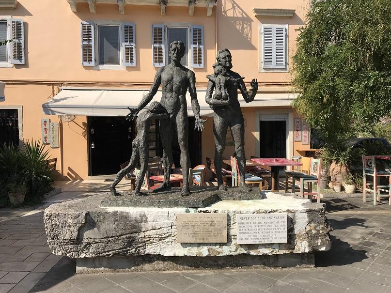 Minnesmonument - Korfu stad