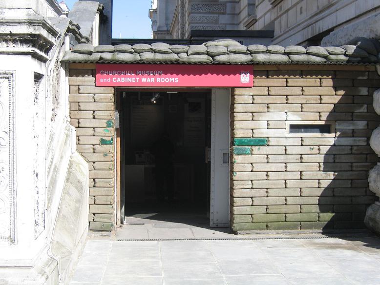 Ingången till museet (2008)