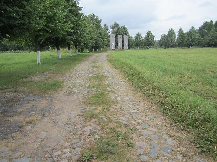 Monument längs Livets väg (bevarad del av Livets väg)