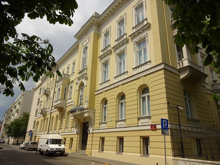 Aleja Róz 2 - Kutscheras bostad alldeles i närheten av attentatsplatsen