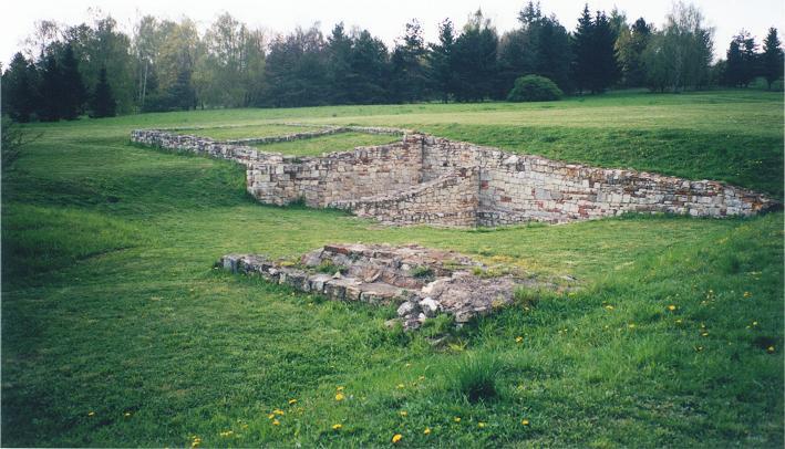 Ruinerna efter Horaks gård där avrättningarna ägde rum