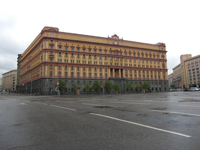 KGB:s högkvarter Lubyanka