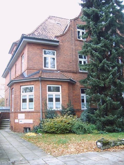 Huset där Himmler begick självmord