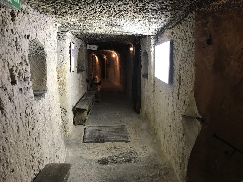 Skyddsrum vid museet Malta at War