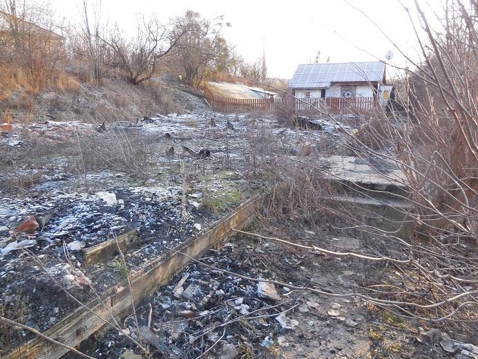Ruin lägerbarack