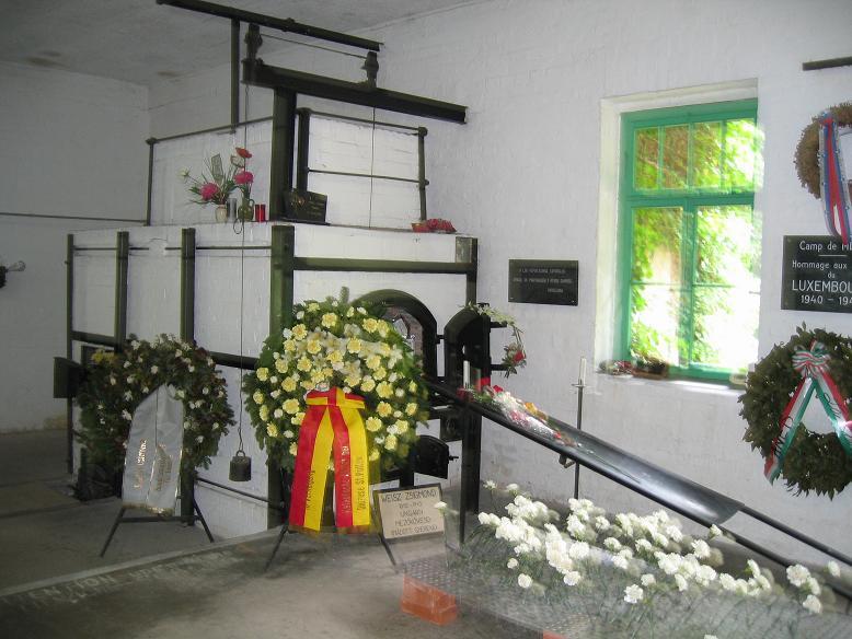 Inuti krematoriet