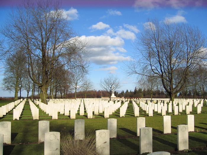 Kanadensisk krigskyrkogård i Groesbeek