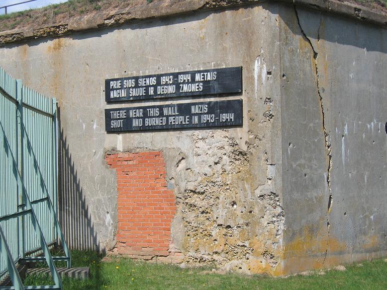 Här mördade nazisterna judar under 1943 och 1944