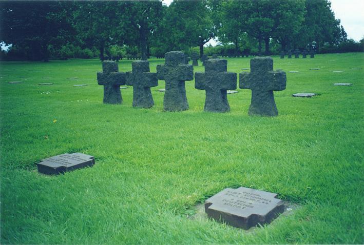 La Cambe, tysk krigskyrkogård