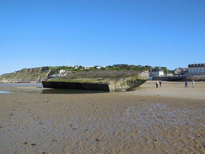 Mulberry Harbour, Gold Beach, Arromanches