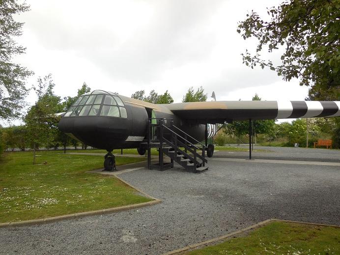 Pegasus museum, rekonstruerad Horsa glider