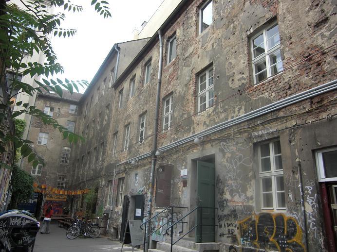 Utsidan på Otto Weidts verkstad