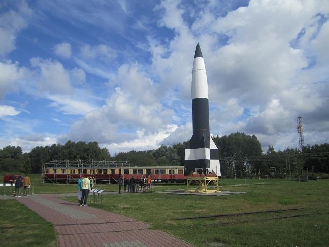 Replica av en V2 raket