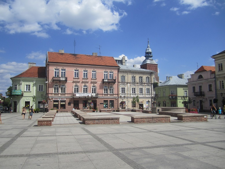 Torget i Piotrkow Trybunalski (gettot)