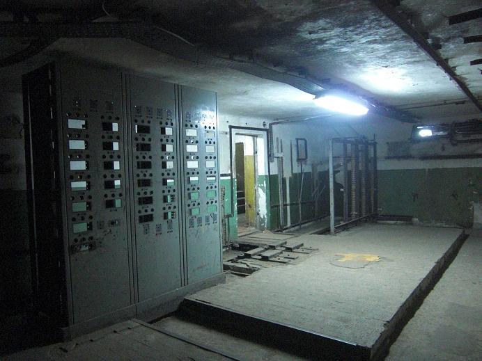 Inuti ledningscentralen