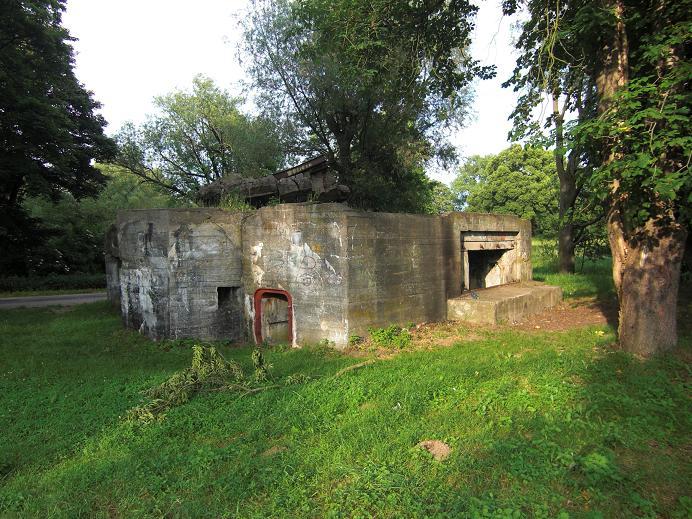 Ruin vid Boryszyn knappt en mil från Pniewo