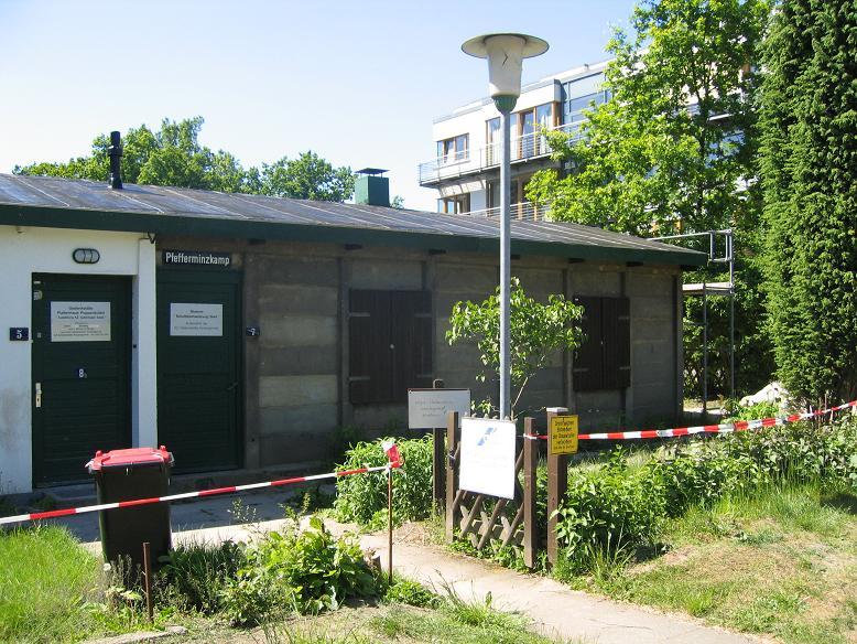 Museet i en f.d. lägerbarack