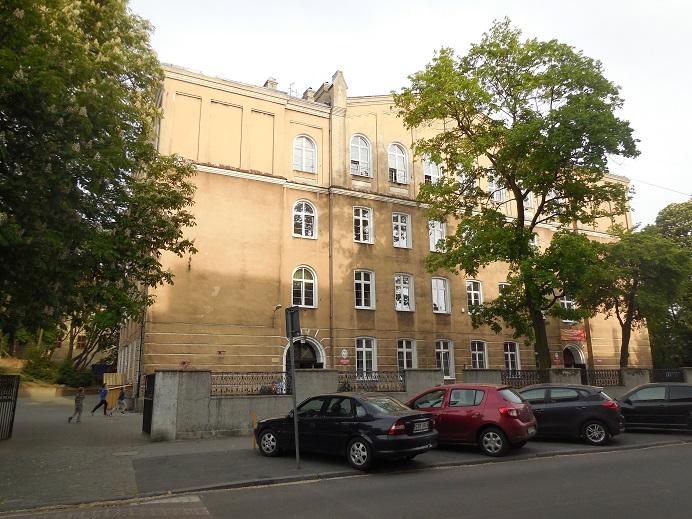 Baltenlager vid ulica Bydgoska