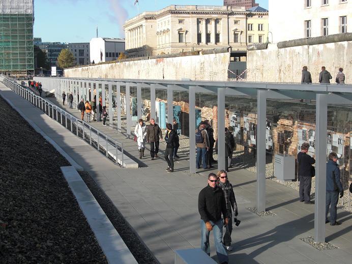 Fängelsecellerna vid utomhusutställningen 2010