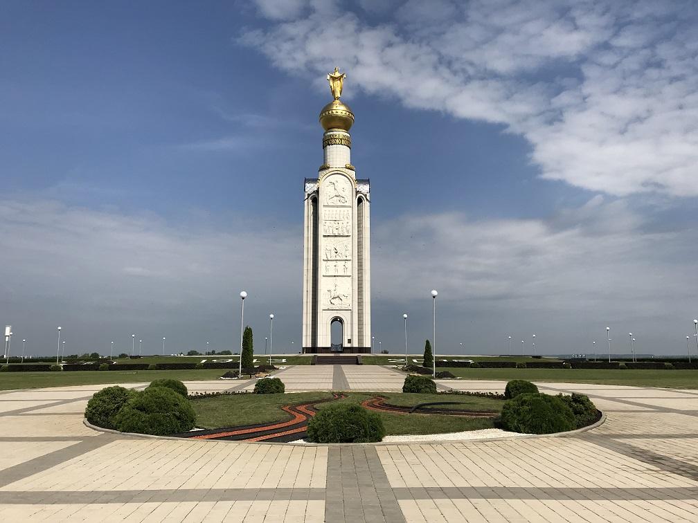 Prokhorovka minnespark (51° 01' 04.10 N 36° 40' 20.06 E)