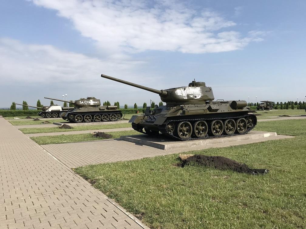 Prokhorovka minnespark