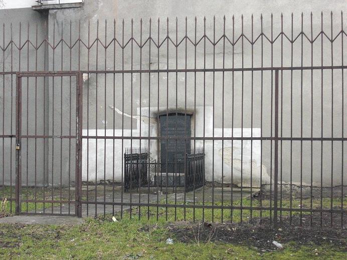 Minnesmonument för de som mördades i gettot