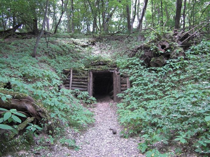 Ingången till Zjukovs bunker