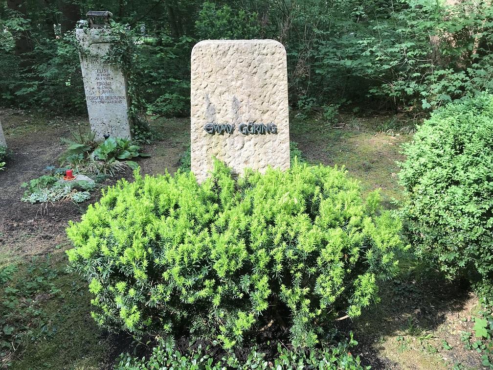 Emmy Görings grav på Waldfriedhof, Munchen