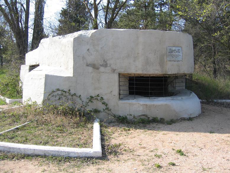 Det finns bunkrar lite varstans kvar i Sevastopol som en påminnelse från kriget
