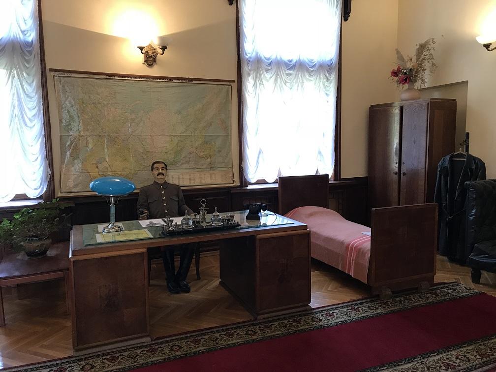 Stalins arbetsrum och sovrum