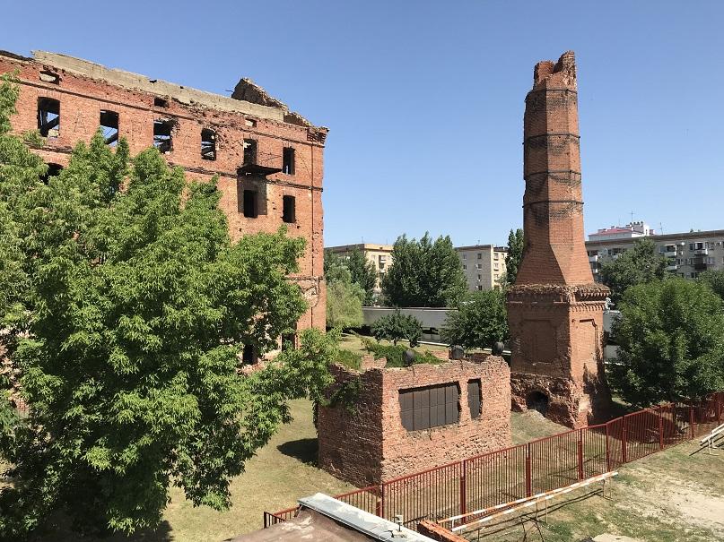 Ruin utanför museet