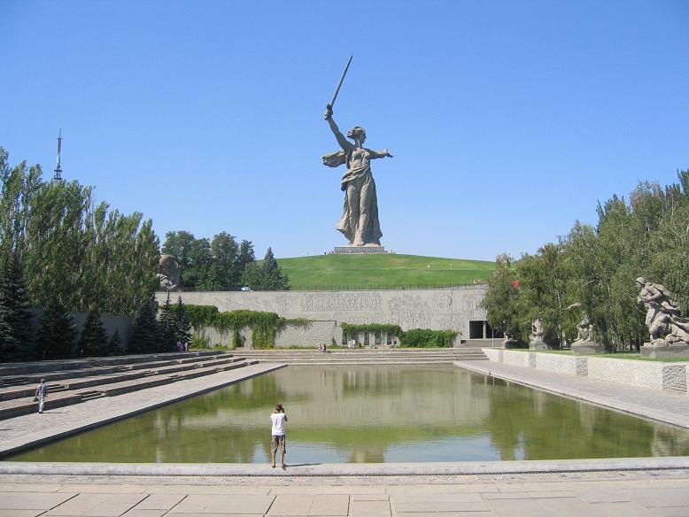 Staty Moderlandet kallar, Mamayev kurgan