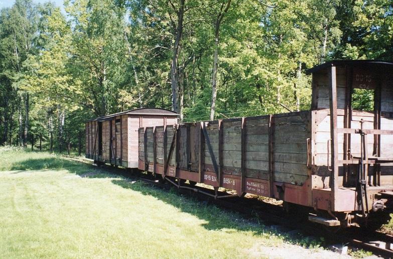 Godsvagnar som transporterade fångar