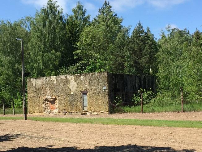 Bunker inom det avspärrade området (ej tillgänglig)