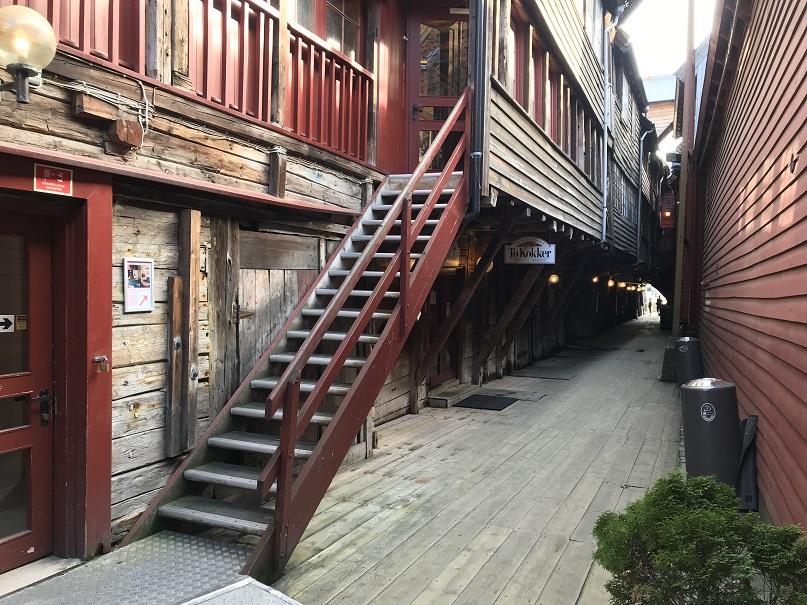Trappan upp till museet