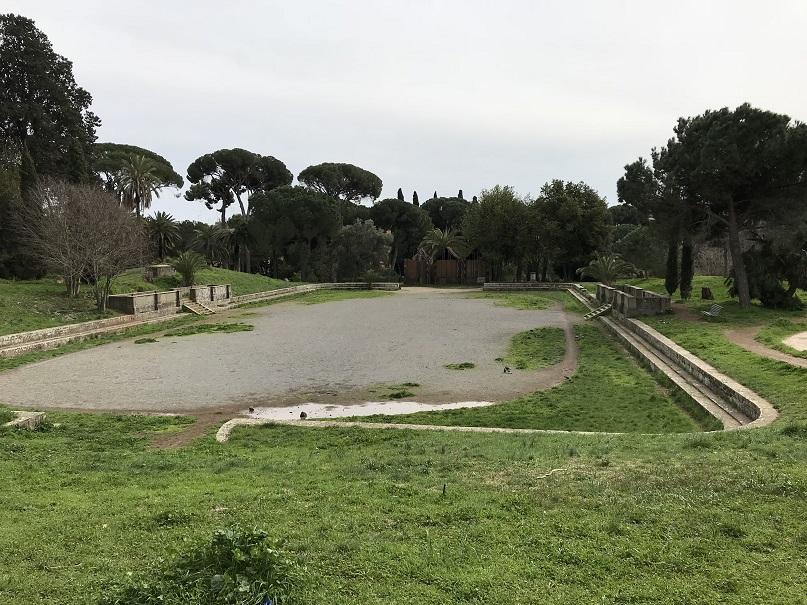 Sportanläggning Villa Torlonia