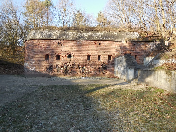 Del av fortet