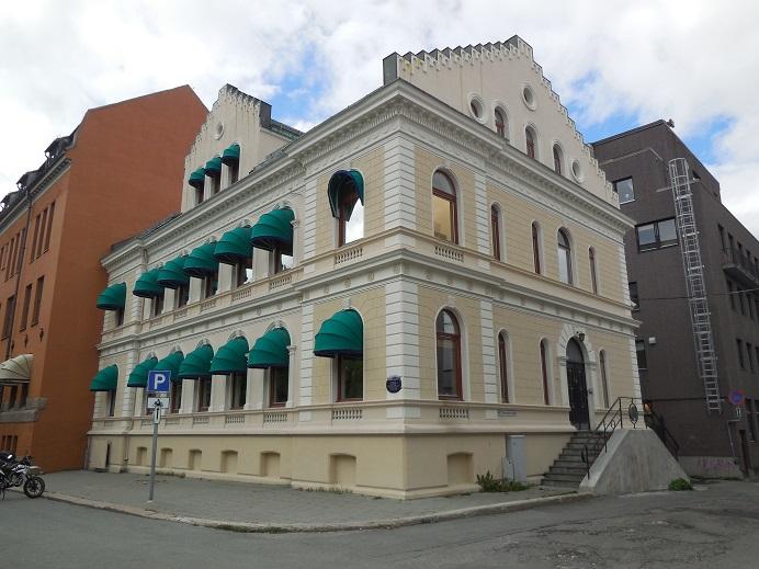 Gestapos högkvarter på Bankgata 13, Tromsö.
