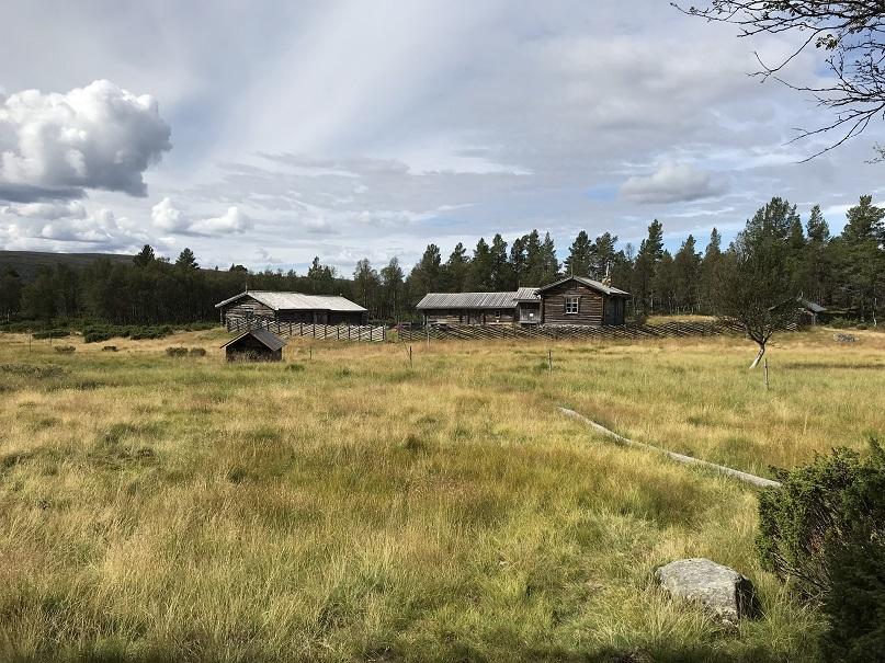 Fjällgården/fäbodarna Valdalsbygget